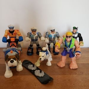 Fisher price rescue heroes lot 2001 2004 arcitc